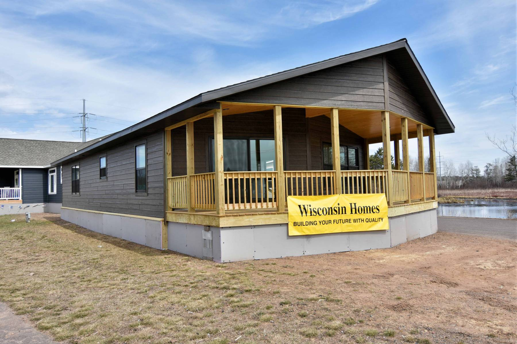Modular homes for sale by american home sales in hayward wi - How are modular homes built ...